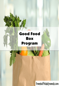 good food box program
