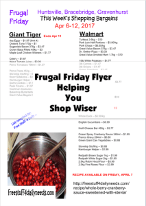 frugal friday flyer helping you shop wiser