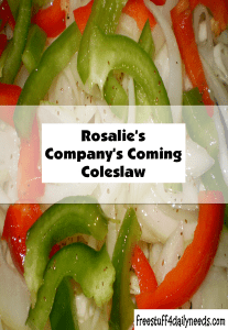 rosalies companys coming coleslaw