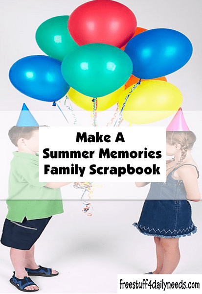 Exceptionnel Make A Summer Memories Family Scrapbook