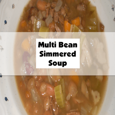 Multi Bean Simmered Soup