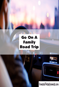 go on a family road trip