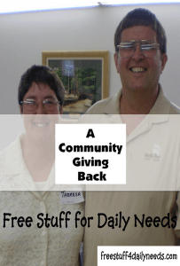 a community giving back
