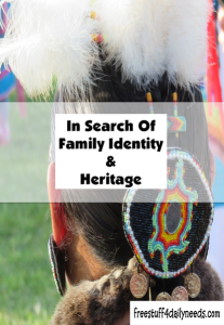 in search of family identity and heritage