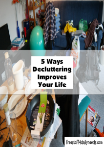 5 ways decluttering improves your life