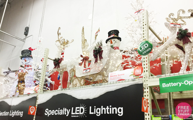 Up To 75% Off Outdoor Christmas Decorations At Home Depot