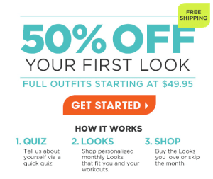 Fabletics deal 50% off