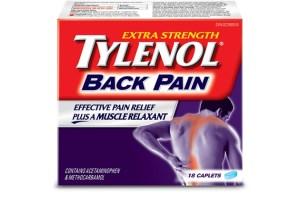 Tylenol Back Pain ~ FREE Tylenol Back Pain Samples