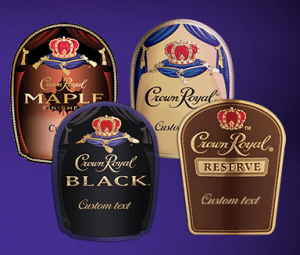 FREE Personalized Crown Royal Bottle Labels!