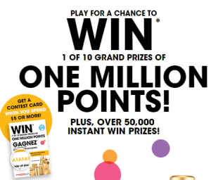 Shoppers Drug Mart Contest ~ 50,000 Instant Win Prizes!