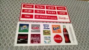 Free Coca Cola Stickers ~ Canada