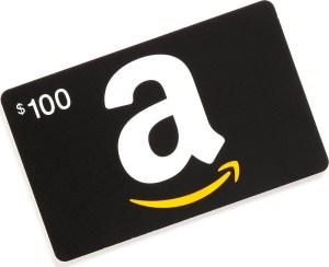 Win a FREE $100.00 Amazon Gift Card!