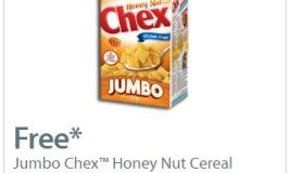 FREE Jumbo Box of Chex Cereal ~ Walmart ~ Canada