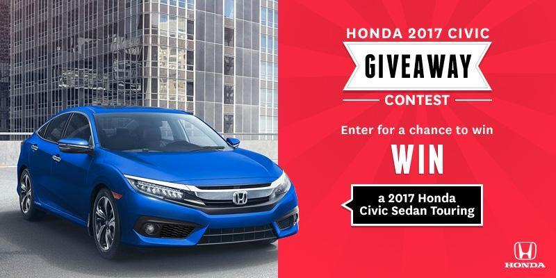 New Honda Canada Contest