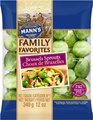 Mann's Family FavoritesBrussels Sprouts