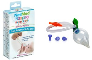 FREE NeilMed Naspira Baby Nasal – Oral Aspirator!