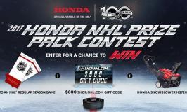 Win a Honda NHL Prize Pack!