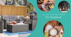 Win a Brand New Patio Set And More!!