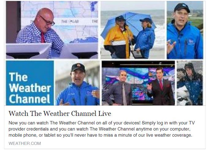 Weather Channel Live Hurricane Coverage Today - Resume