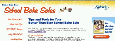 SchoolBakeSales.com Free Better-Than-Ever School Bake Sale Kit - US
