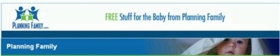 Sponsored: PlanningFamily.com Free Baby Products - US
