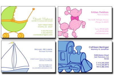 Babycake Creations Free Sample Pack of Business Cards - Canada and US