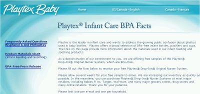 Playtex Drop-Ins Original Nurser System Free Sample - Canada