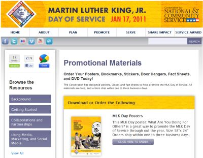 Martin Luther King Jr Free Mlk Posters Bookmarks Stickers Door
