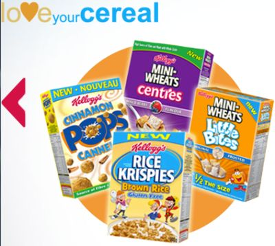 Kellogg's Free Cereal Coupon with Purchase of 2 Boxes of Cereal - Canada