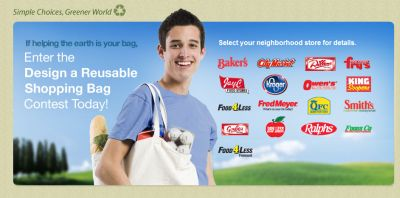 Free Reusable Shopping Bag from Baker's, Kroger, Fred Meyer, QFC, Ralphs, Food 4 Less and More - US