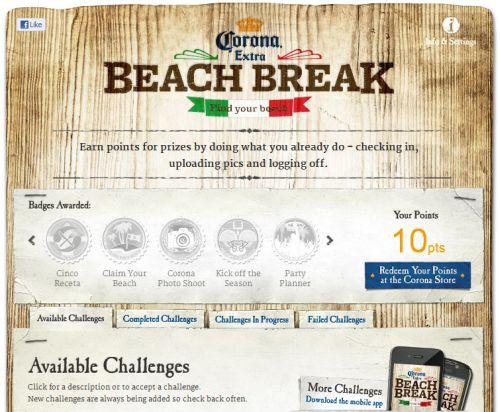 Free Promotional Stuff from Corona Beach Break via Facebook - Ages 21+, US
