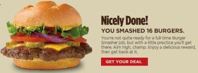 Smashburger.com Play a Burger Smasher Game for a Deal from Smashburger
