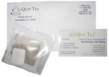 QuitTea Free Quit Smoking Aid Sample - US