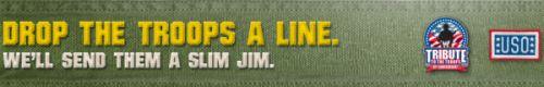 Slim Jim Help Deploy 1,000,000 Slim Jims to the Troops