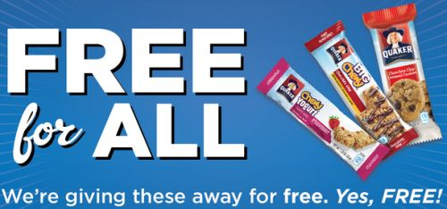 Kroger Quaker Free for All Free Quaker Chocolate Chip Cookies