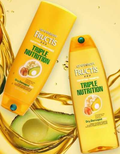 Garnier Triple Nutrition Shampoo and Conditioner Hair Care Free Sample via Facebook