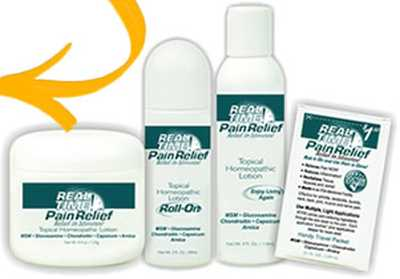 Real Time Pain Relief Free Pain Relief Sample - Puerto Rico and US