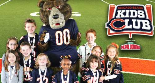 Chicago Bears Kids Club Membership Free Newsletters, Contests, Prizes and Discounts