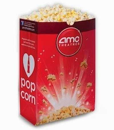 AMC Theaters Free Small Popcorn via Text SMS - Exp. March 6, 2014