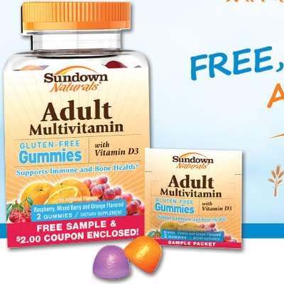 Sundown Naturals Free Adult Multivitamin Supplement Gummies  - US