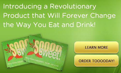 Soooo Sweet! Stevia Free Sample - US