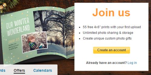Snapfish 55 Free 4x6 Prints and Free Shipping for New Customers