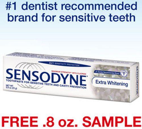 Costco Wholesale Free Sensodyne Extra Whitening Toothpaste Sample - US