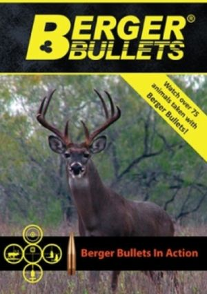 Berger Bullets Free Berger Hunting DVD - US