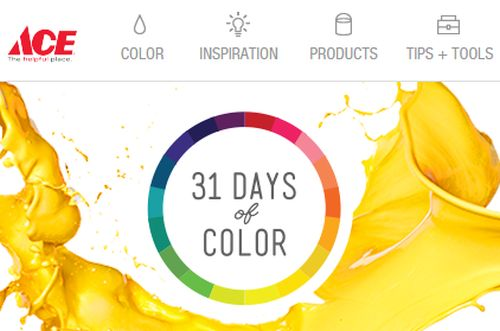 Ace Hardware Free Color Kit at 12 Noon EST