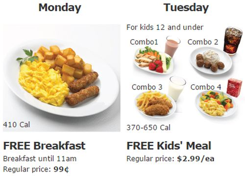 IKEA Family Weekly Restaurant Offers: Free Breakfast on Mondays until 11 a.m., and Free Kids' Meal on Tuesdays - US
