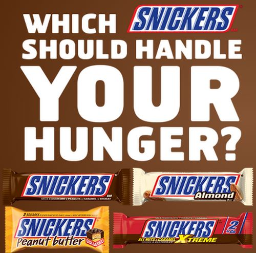 Snickers Chocolate Bar Free Buy 1 Get 1 Free Snickers Bar Coupon via Facebook - US