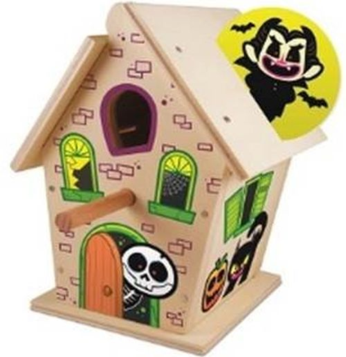 Lowe's Build and Grow Free Haunted Birdhouse on October 10