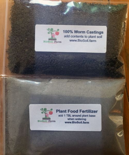 BioSoil Farm Worm Castings Fertilizer