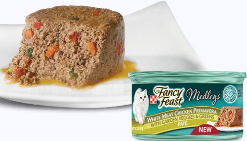 Purina Fancy Feast Medleys White Meat Chicken Primavera Paté